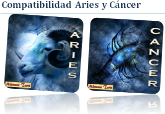 Compatible Aries con Cáncer